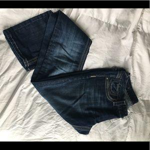 Express ReRock Size 8 Skinny Jeans